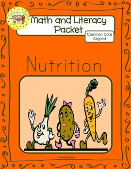 Nutrition Worksheets Emergent Reader Task Cards