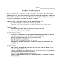 Nutrition Meal Plan Project
