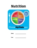 Nutrition - My Plate Packet
