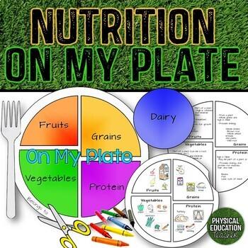Nutrition On My Plate, Health Grades K-3