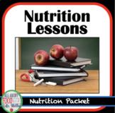Nutrition Unit Lessons, FACS FCS
