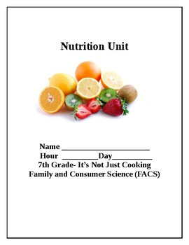 Nutrition Packet: Nutrients