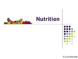 Nutrition PowerPoint Presentation Lesson Plan