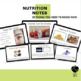 Nutrition Powerpoint and Note Packet