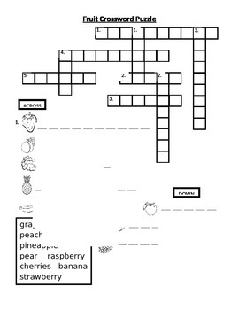 Nutrition Vocabulary Puzzles and Questions