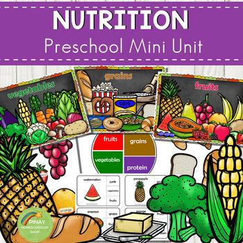 Food and Nutrition Preschool Mini Unit Activities