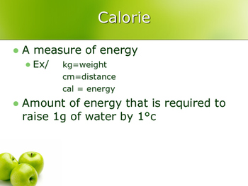 PPL PE/Health  Nutrition Presentation