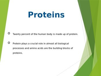 Nutrition: Proteins one of the 6 Essential Nutrients