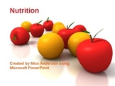 Nutrition Review PowerPoint