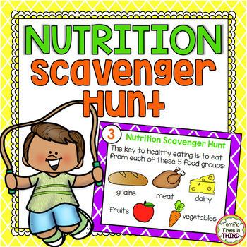 Nutrition Scavenger Hunt