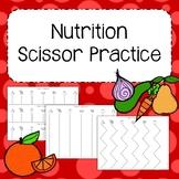 Nutrition Scissor Practice