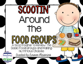 Basic Food Groups and Nutrition Scoot Game