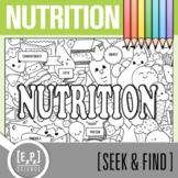 Nutrition Seek & Find Doodle Page