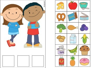 Nutrition Speech & Language Thematic Unit