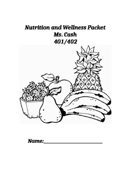 Nutrition Student Packet