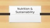 Nutrition & Sustainability Unit