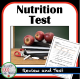Nutrition Unit Test, FACS FCS