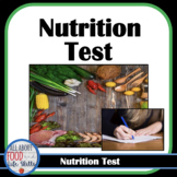 Nutrition Test: Focuses on the Major Nutrients FCS, FACS