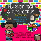Nutrition Test & Flashcards