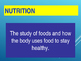 Nutrition: The Digestive Process For Lablearner Investigation 1