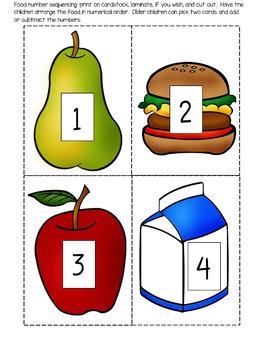 Nutrition Theme Unit for Preschool