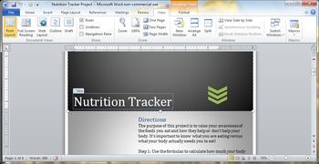 Nutrition Tracker Project
