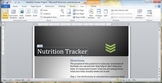 Nutrition Tracker Project