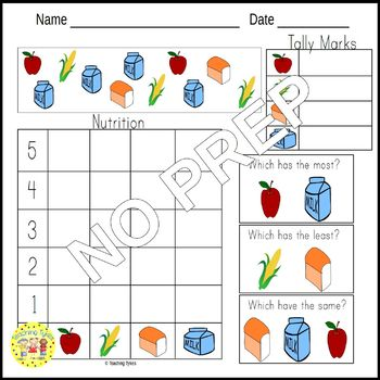 Nutrition Worksheets Activities Games Printables and More
