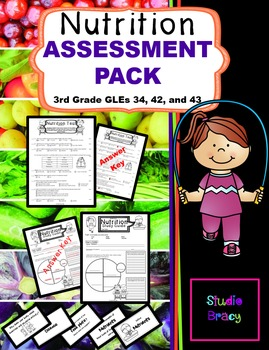 Nutrition Unit Assessment BUNDLE