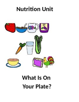 Nutrition Unit Lesson 1 -- Eating Habits Related to Personal Goals
