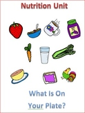 Nutrition Unit Lesson 2 -- One Day Food Menu