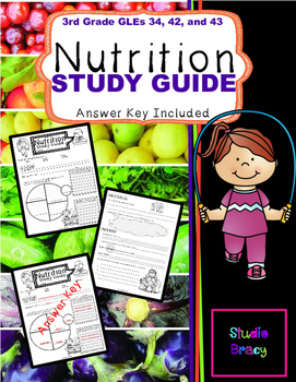 Nutrition Unit Study Guide