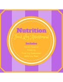 Nutrition: Food Log Assessment