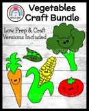 Vegetable Nutrition and Plant Parts Craft Pack for Kindergarten