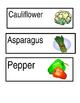 Nutrition Vocab Cards