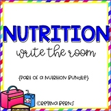 Nutrition Write the Room