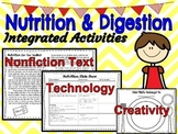 Nutrition and Digestion Integrated Activities Unit AND Pow