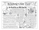 Nutrition and Food Groups Two-Page Activity Set