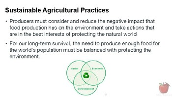 Nutrition and Health - Sustainability in Food Supply