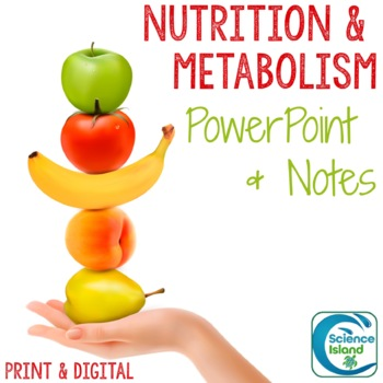 Nutrition and Metabolism PowerPoint and Notes