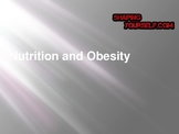 Nutrition and Obesity Power Point Unit