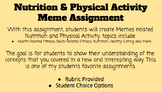 Nutrition and Physical Activity Meme Assignment