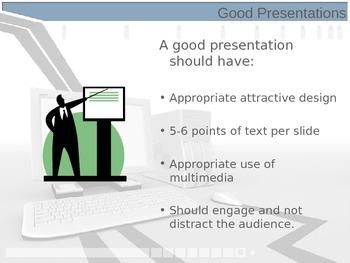 Good vs Bad PowerPoint Multimedia presentations.