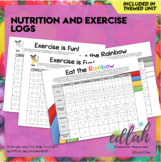 Nutrition/Food Logs (Food Log & Exercise Log)
