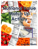 Nutritional Value Match Up Activity