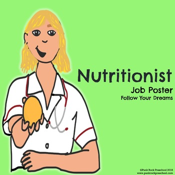 Dietitian/Nutritionist Poster - Discover Your Passions