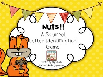 Nuts!! A SquirrelLetter IdentificationGame