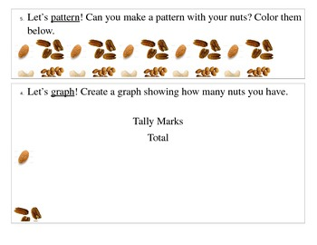 Nuts About Autumn Tally Graph
