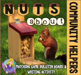 Nuts About Community Helpers (Game and Bulletin Board)