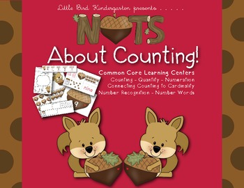 Nuts About Counting! Common Core Learning Centers